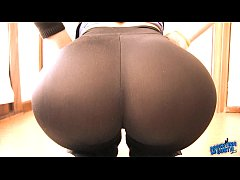 Big Booty Latina With Perfect Tight Pants Insid...