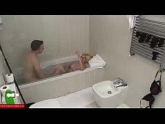 A blonde wants cock in the bathtub CRI007