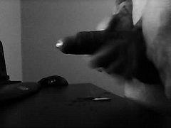 Sloppy spit hand job