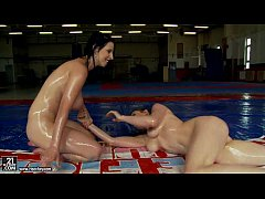 NudeFightClub presents Samantha Benley vs Chrissie