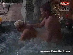 Big brother - sex in pool