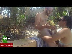 Fruit, sun, Cuban food and cock in the Mediterr...