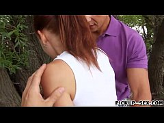 Czech girl Minnie Manga banged by 2 guys for a ...