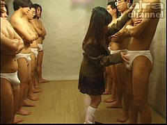 Bukkake Highschool Lesson 19 Japanese uncensore...