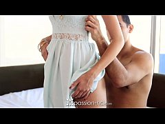Passion-HD - Kimberly Costa sits on her boyfrie...