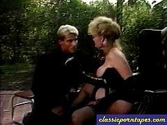 Big Tit Blonde Nailed in classic porn