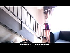 MyBabySitters - Cute Young Babysitter Fucks Dad