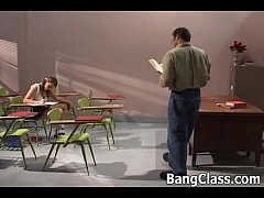 Hot teen wants a school teacher's cock