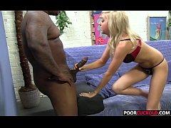 Poor locked Cuckold Watching Callie Cobra getting blacked