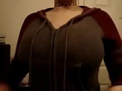 Antoinette Jiggles Her Fake Tits for you! - xHamstercom