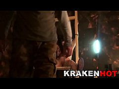 Krakenhot - BDSM  with a chained cosplay girl