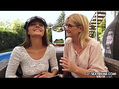 Dominica Fox and Jennyfer - Old Young Lesbian Love
