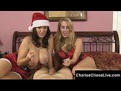 Big Tit Tampa MILF Charlee Chase Gives Santa a ...