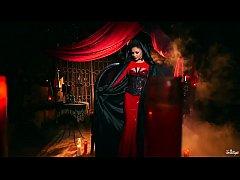 Twistys.com - Sexy vampire xxx scene with Arian...