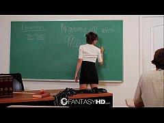 FantasyHD Hot for teacher with sexy Capri Anderson