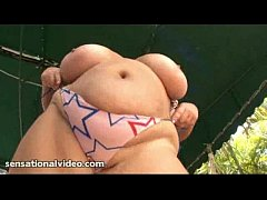 Crazy Fat Wife Plays With Her Huge Pussy Out By...