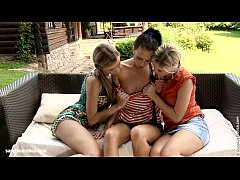 Tandem Fisting by Sapphic Erotica - lesbian love porn with Jess - Nadea