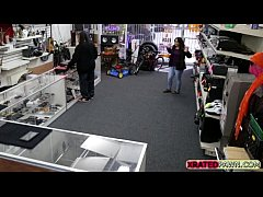Pawn shop guy offers women cash for sex