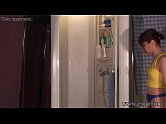 Spying Japanese Girl Haruna Ikoma in Shower Room