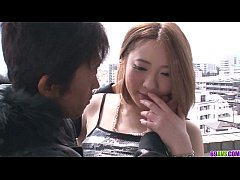 Alice Ozawa gives a japan blowjob and fucks two...