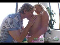 British Blonde Slut Holly Wellin Takes It In Bo...