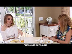 FamilyStrokes - Teaching My Sis To Suck & Fuck
