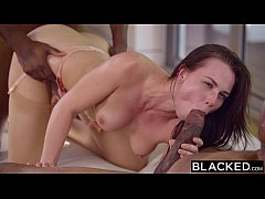 BLACKED Beautiful Student Aidra Fox Takes Two BBCs
