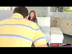 Maddy Oreilly and Kendra Lust tag teaming one l...