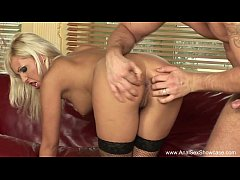 Euro Blonde Intense Anal Sex