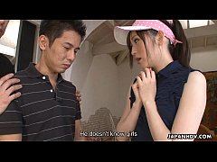 Golfing virging getting to bang a hot Asian slut