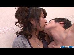 Mai Asahina takes good care of two strong dicks