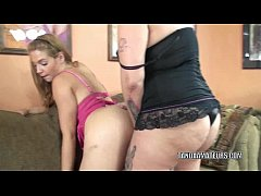 Blonde coed Lina is getting fucked by chubby MI...