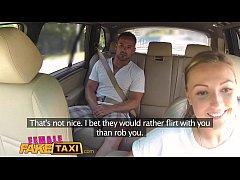 Female Fake Taxi Massive tits cabbie wants cock...