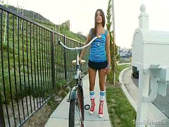 Latina Teen In Distress Gets Seduced By An Olde...