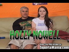 All natural teen Holly Nowell squirting on Porn...