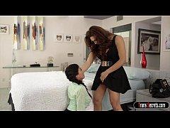 Ts Jessy Dubai teaching her assistent Heather V...