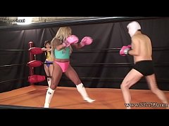 Japanese Mixed Fight and Femdom