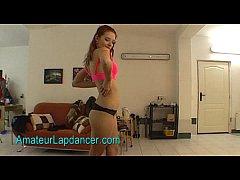 Fresh teen redhead does gorgeous lapdance