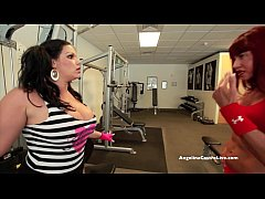 Huge Titted Angelina Castro Fucked by Muscular ...