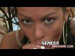 Genesis Angelina Valentine POV blowjob
