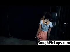 Rough public sex