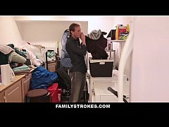 FamilyStrokes - Pervert Step-Dad Obsessed With Daughters Panties