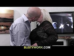 Hot plumper getting doggystyle fucked