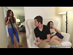 Fucking My Horny Step-Sis Megan Sage In the Next Room To Mom