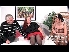 MMV Films German slut helping out a fat mature ...