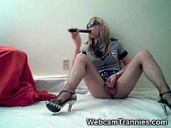 Tranny Police On Cam!