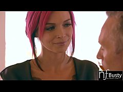 NF Busty - Big Tit Anna Bell Peaks Tied Up And ...