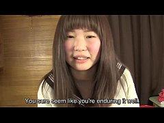 Subtitled Japanese schoolgirl pee desperation g...