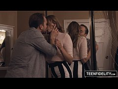 TEENFIDELITY Rococo Royalle Creampied at the Party