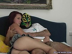 be the mask porn Mask - 736 HD videos: Masked blonde tied to the bed for domination  and toy play and much more.